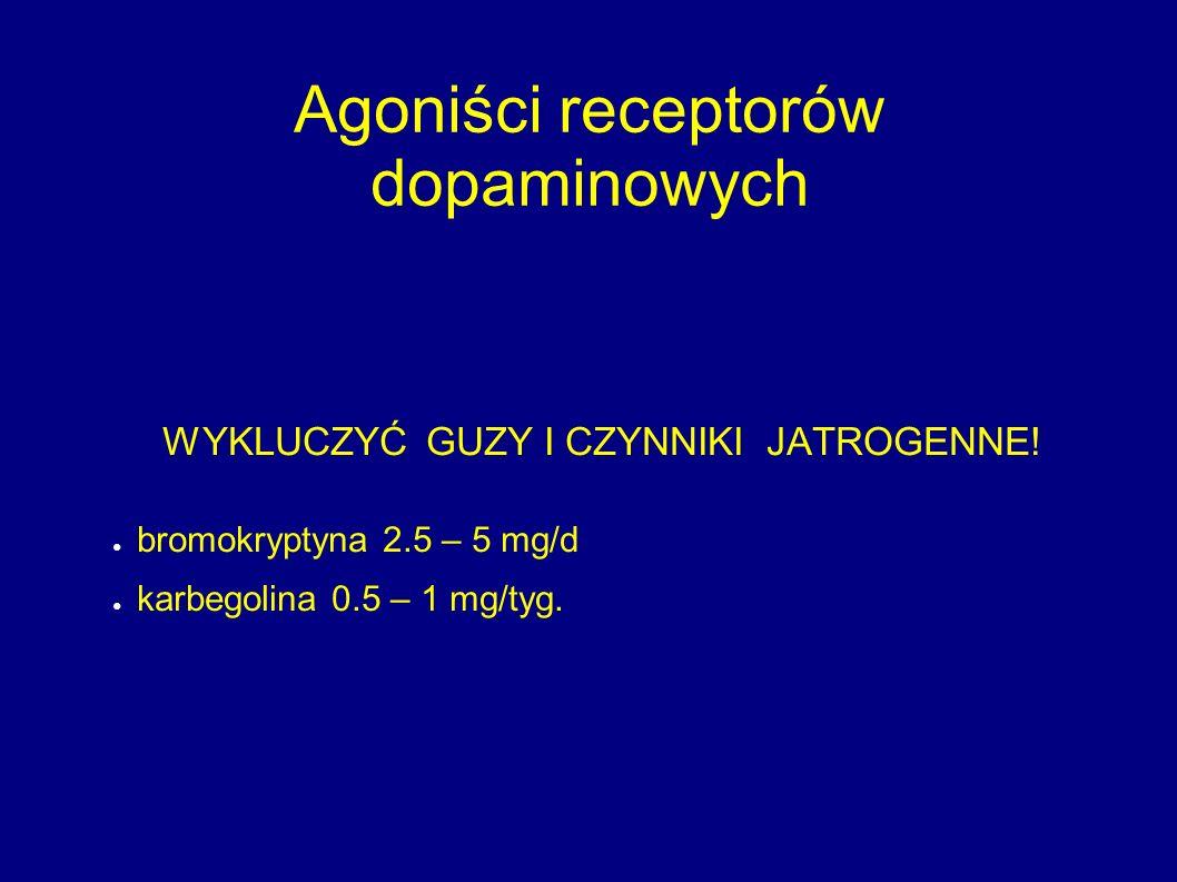 Agoniści receptorów dopaminowych