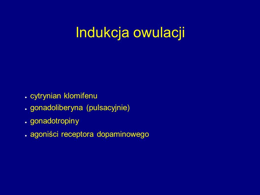 Indukcja owulacji cytrynian klomifenu gonadoliberyna (pulsacyjnie)