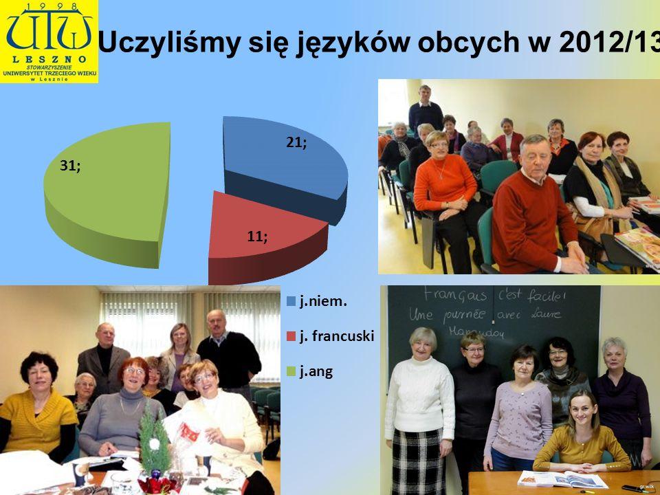 Uczyliśmy się języków obcych w 2012/13