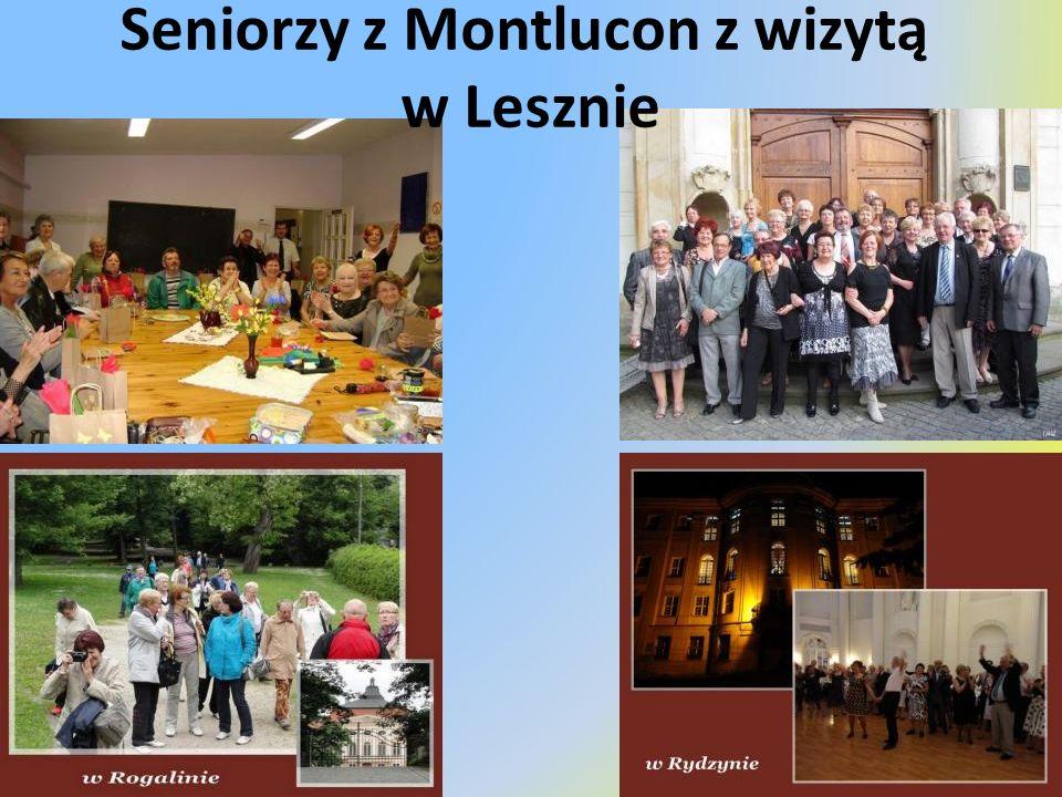 Seniorzy z Montlucon z wizytą w Lesznie