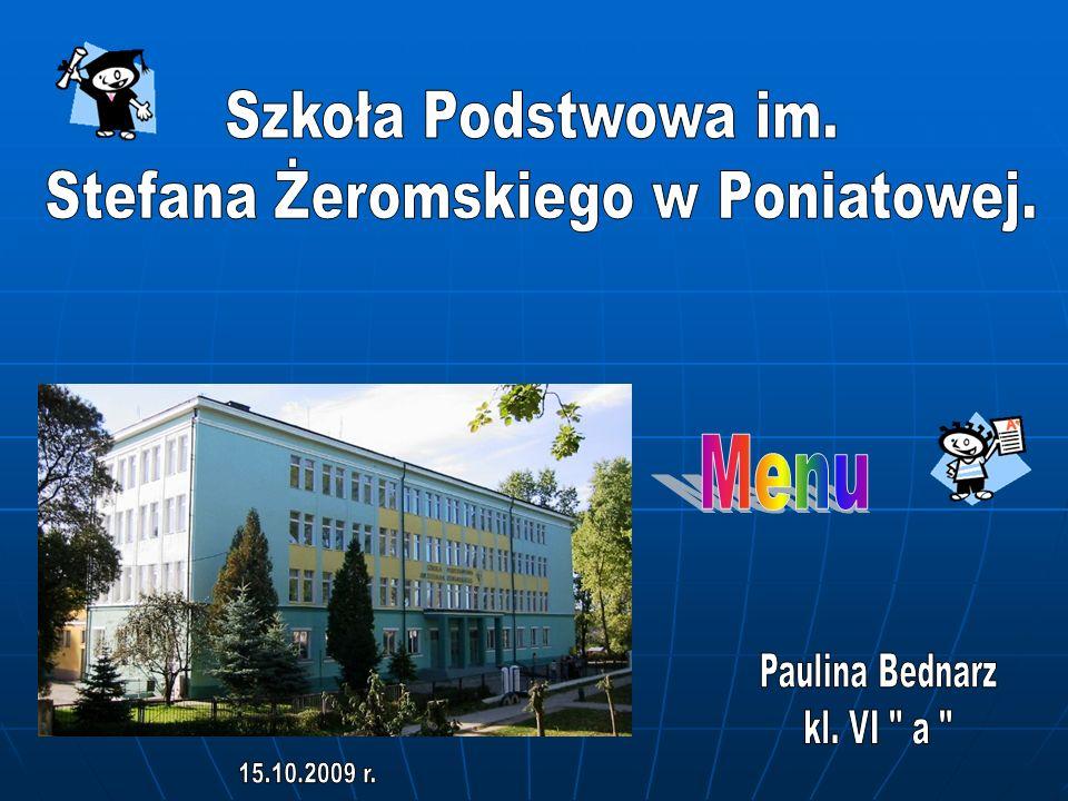 Stefana Żeromskiego w Poniatowej.