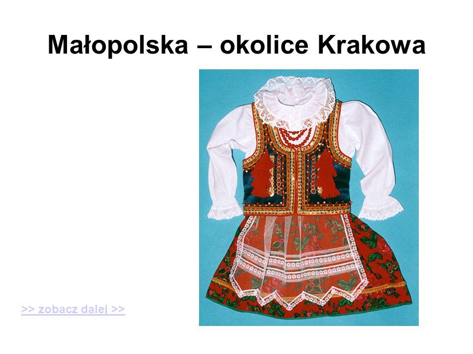 Małopolska – okolice Krakowa