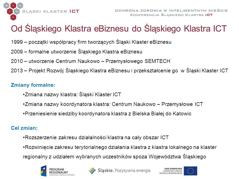 Od Śląskiego Klastra eBiznesu do Śląskiego Klastra ICT