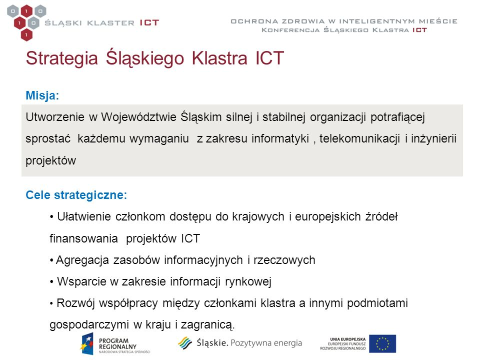 Strategia Śląskiego Klastra ICT