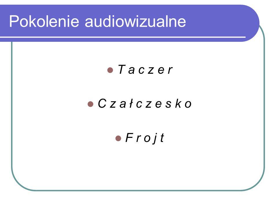 Pokolenie audiowizualne