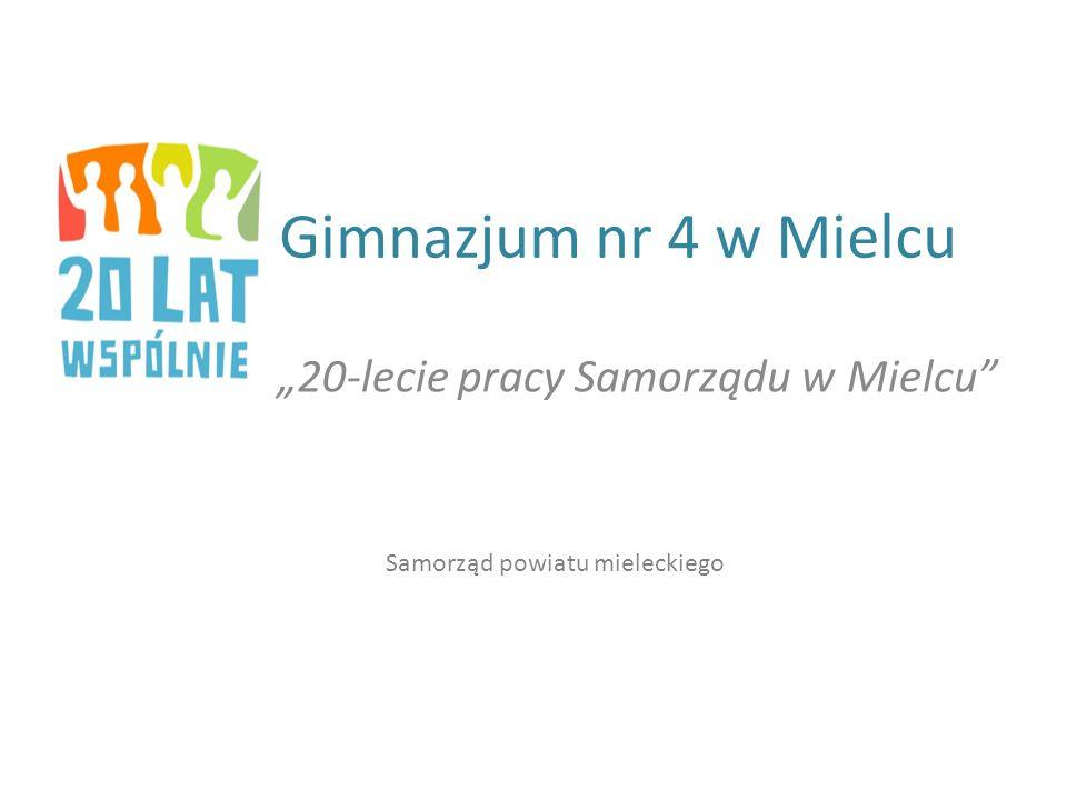 """""""20-lecie pracy Samorządu w Mielcu"""
