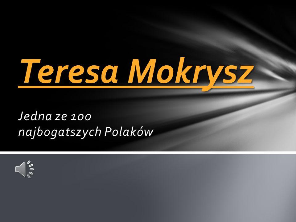 Jedna ze 100 najbogatszych Polaków