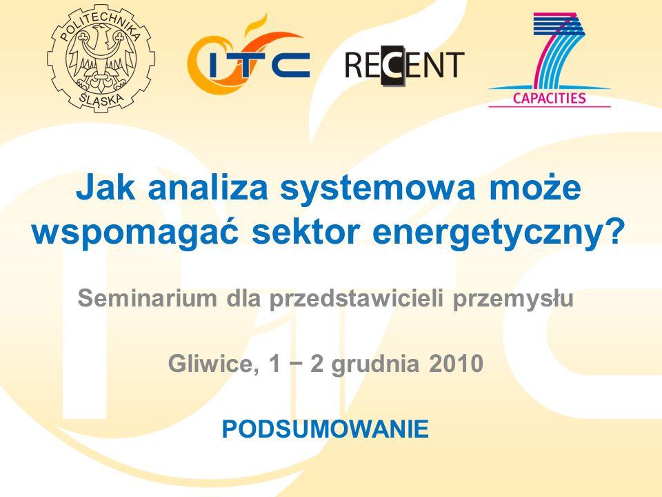 Jak analiza systemowa może wspomagać sektor energetyczny