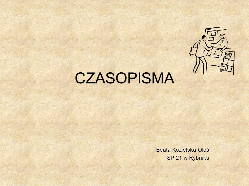 Beata Kozielska-Oleś SP 21 w Rybniku