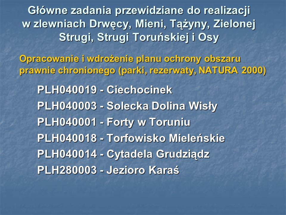 PLH040003 - Solecka Dolina Wisły PLH040001 - Forty w Toruniu