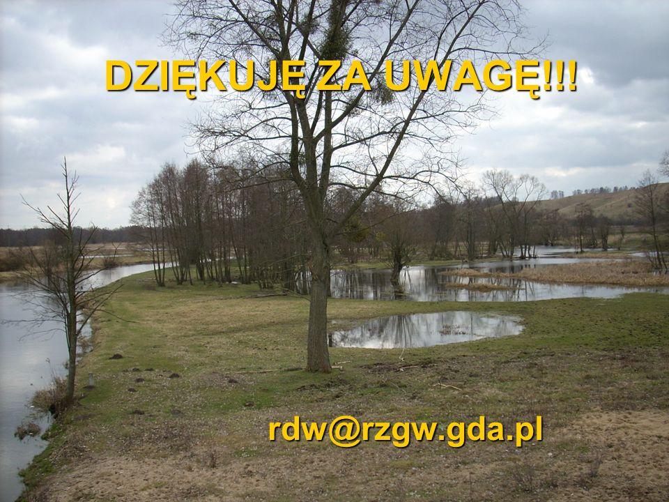 DZIĘKUJĘ ZA UWAGĘ!!! rdw@rzgw.gda.pl