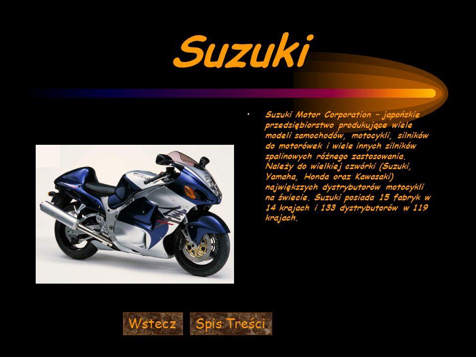 Suzuki Wstecz Spis Treści