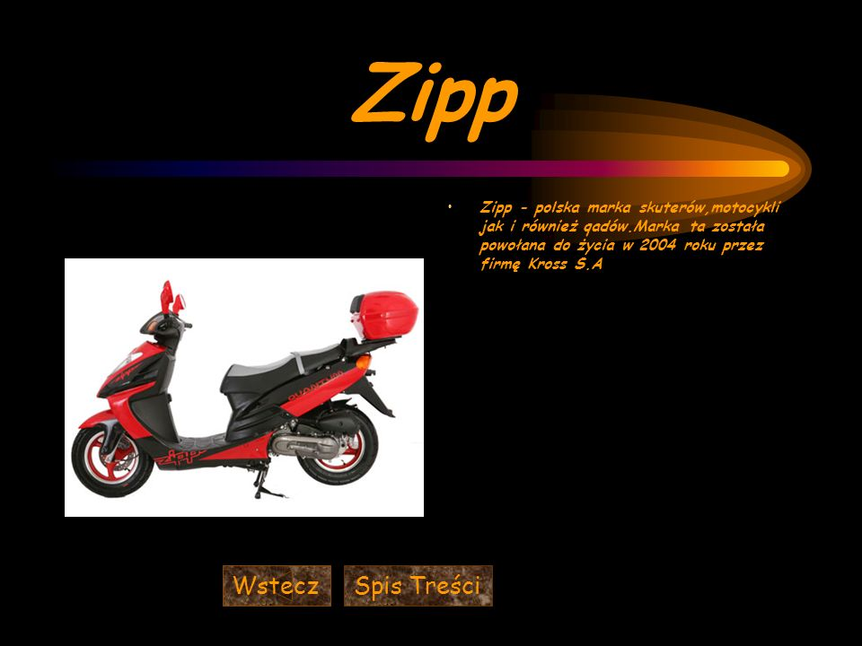 Zipp Wstecz Spis Treści