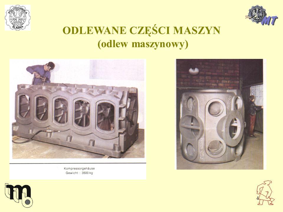 ODLEWANE CZĘŚCI MASZYN (odlew maszynowy)