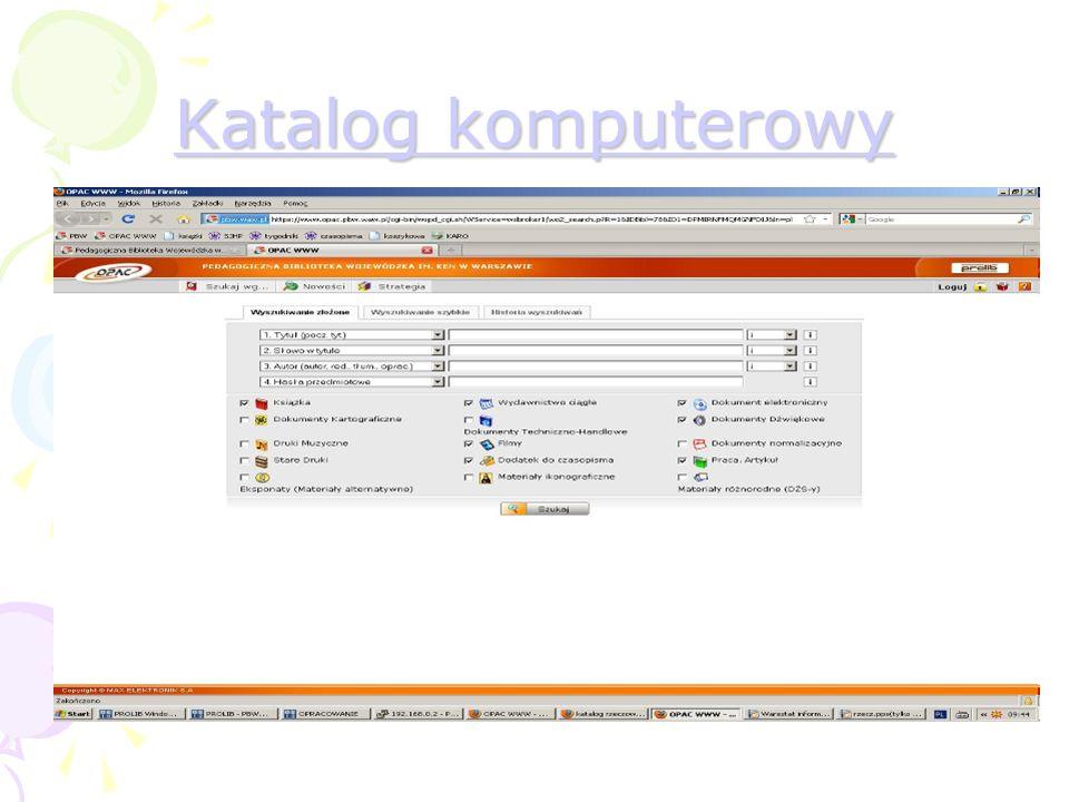 Katalog komputerowy