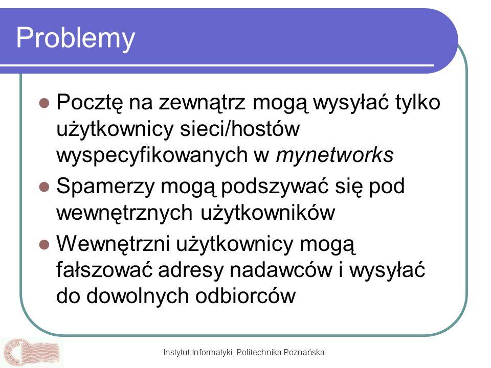 Instytut Informatyki, Politechnika Poznańska