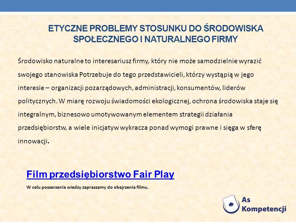 Film przedsiębiorstwo Fair Play