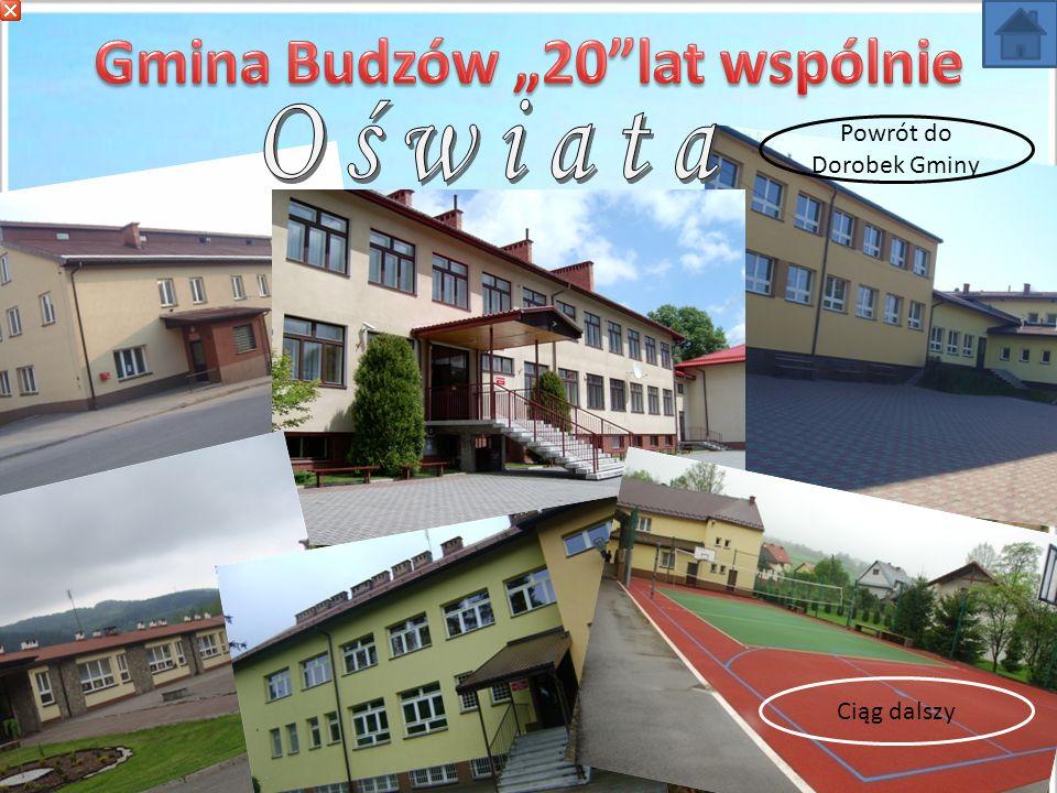 """Gmina Budzów """"20 lat wspólnie"""