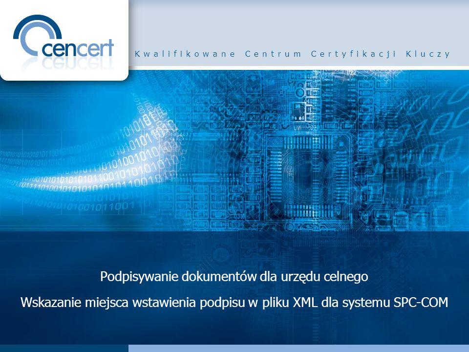 Kwalifikowane Centrum Certyfikacji Kluczy
