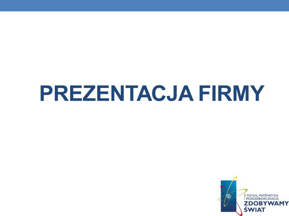 Prezentacja firmy