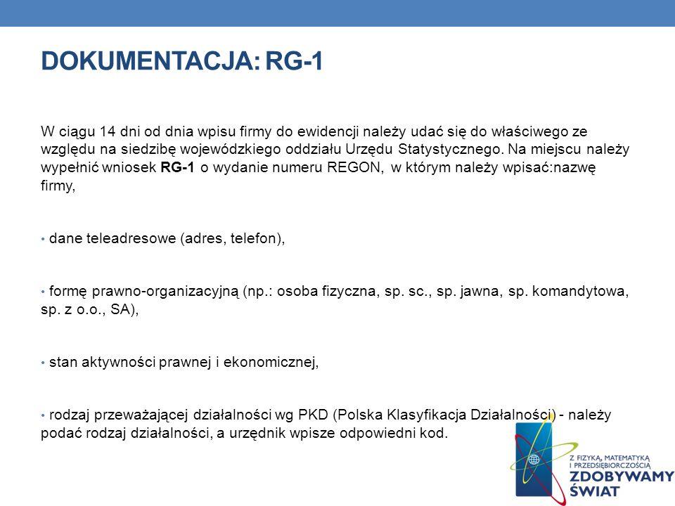 Dokumentacja: RG-1