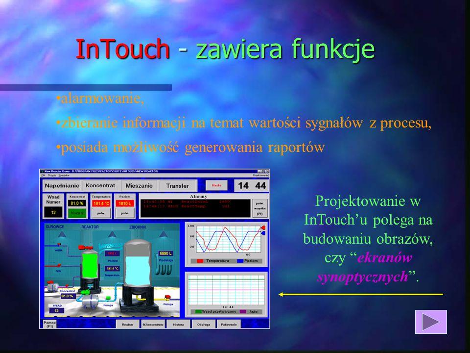 InTouch - zawiera funkcje