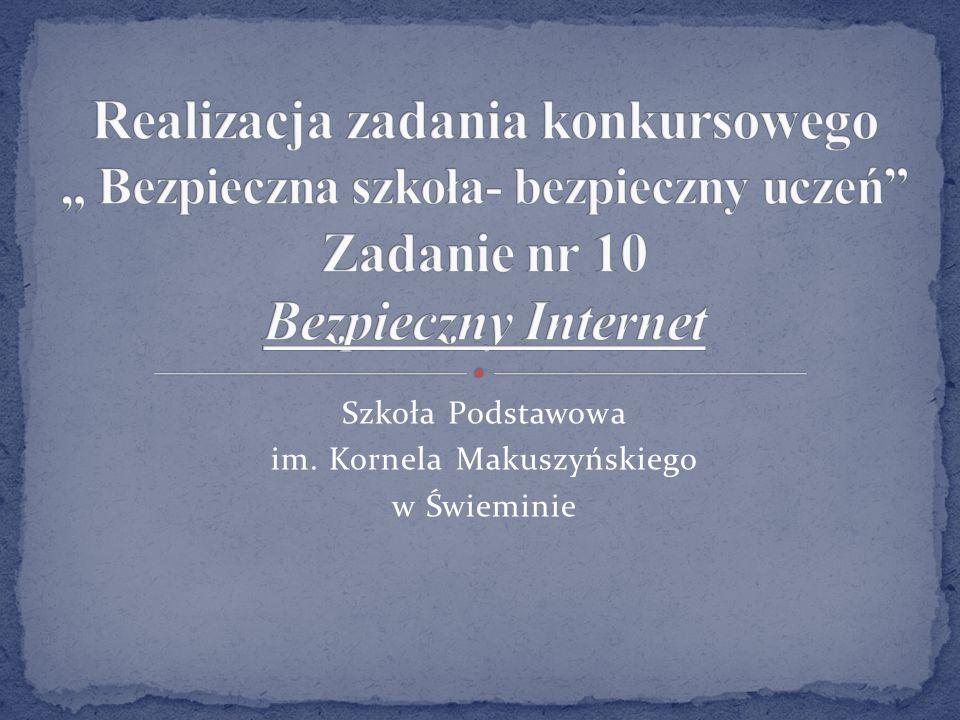 Szkoła Podstawowa im. Kornela Makuszyńskiego w Świeminie