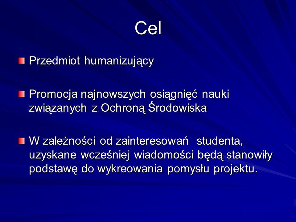 Cel Przedmiot humanizujący