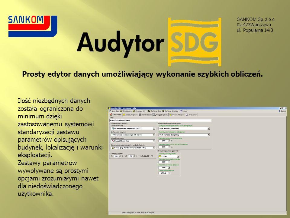 Prosty edytor danych umożliwiający wykonanie szybkich obliczeń.