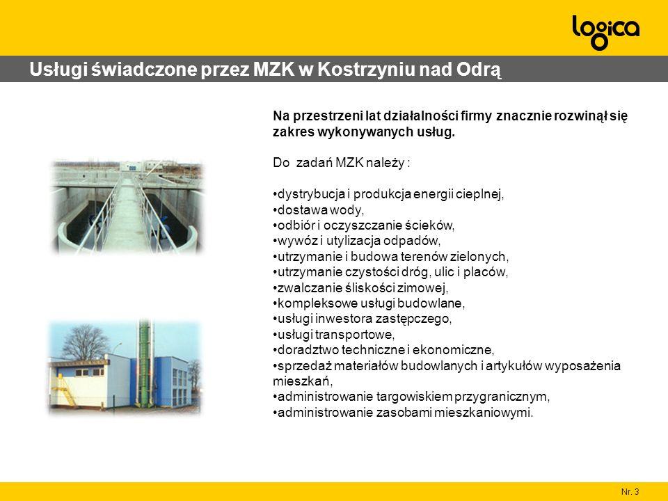 Usługi świadczone przez MZK w Kostrzyniu nad Odrą