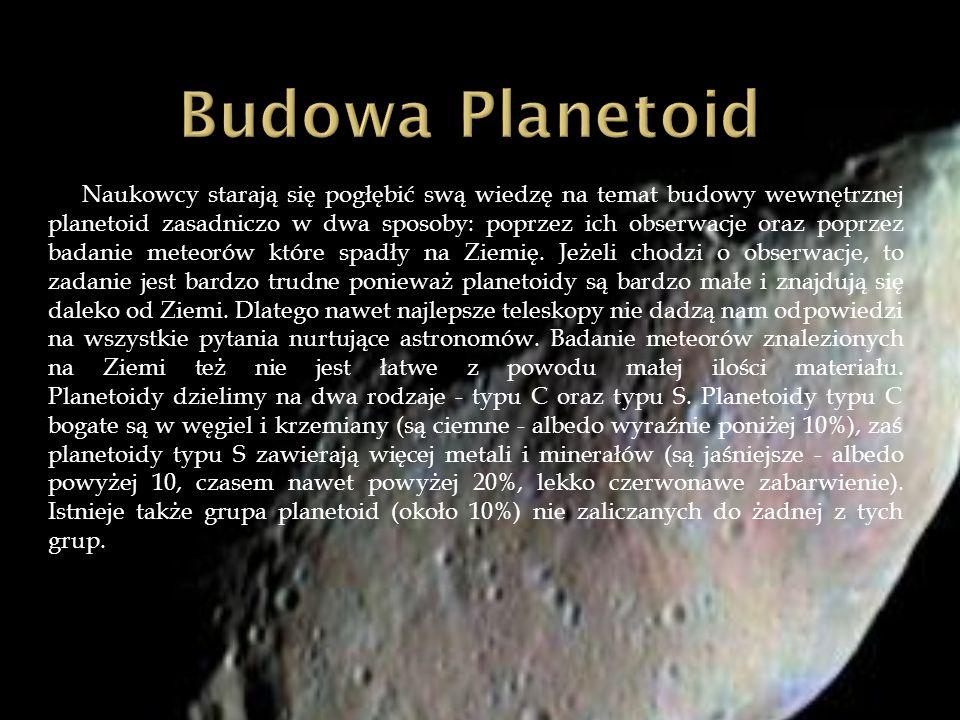 Budowa Planetoid