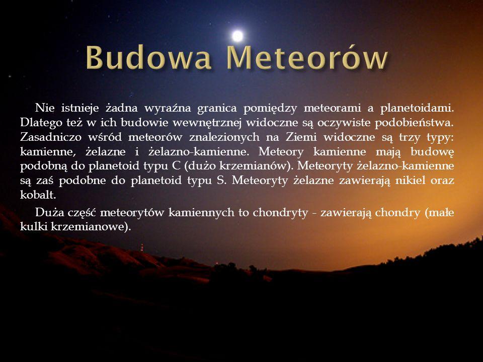 Budowa Meteorów