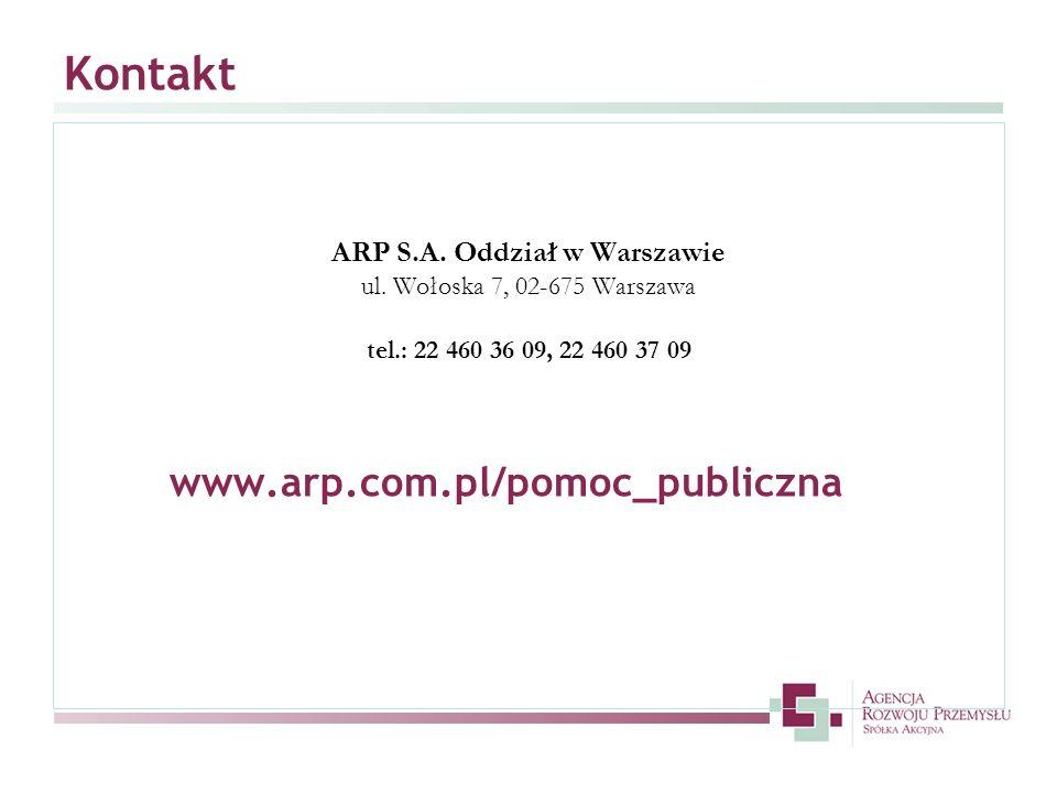 ARP S.A. Oddział w Warszawie