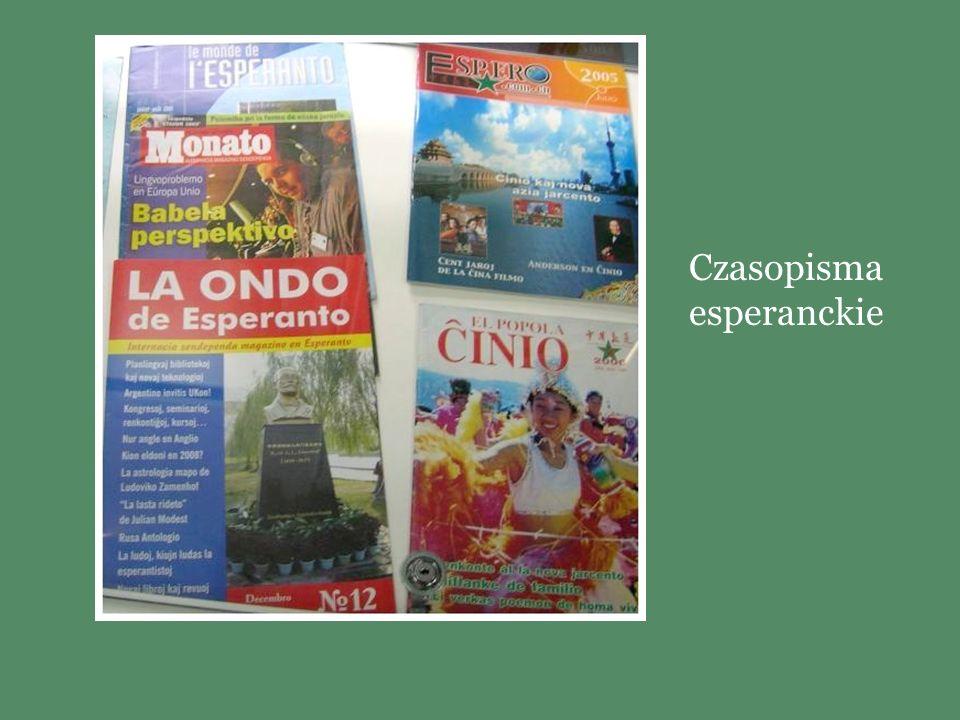 Czasopisma esperanckie