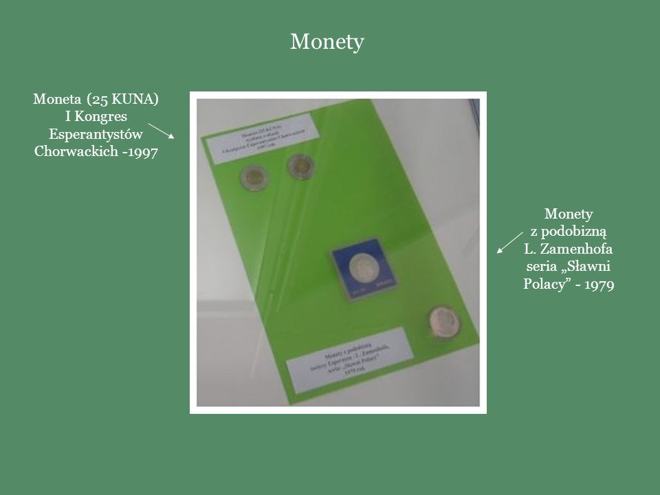 Monety Moneta (25 KUNA) I Kongres Esperantystów Chorwackich -1997