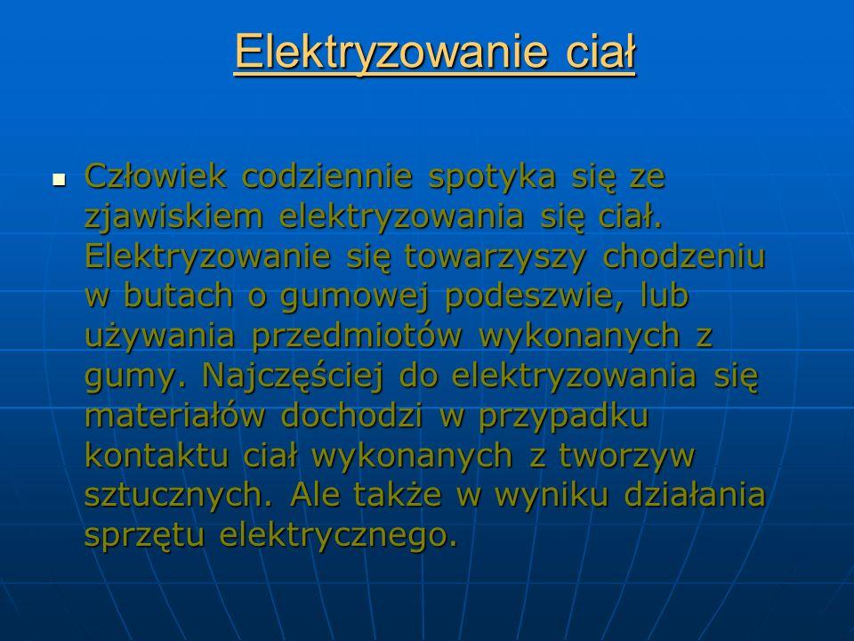 Elektryzowanie ciał