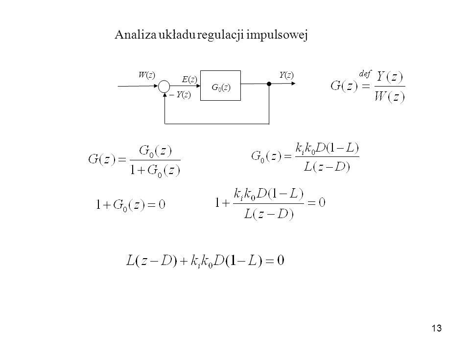 Analiza układu regulacji impulsowej
