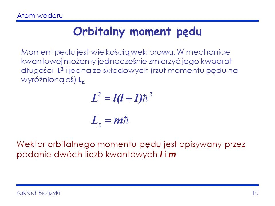 Orbitalny moment pędu