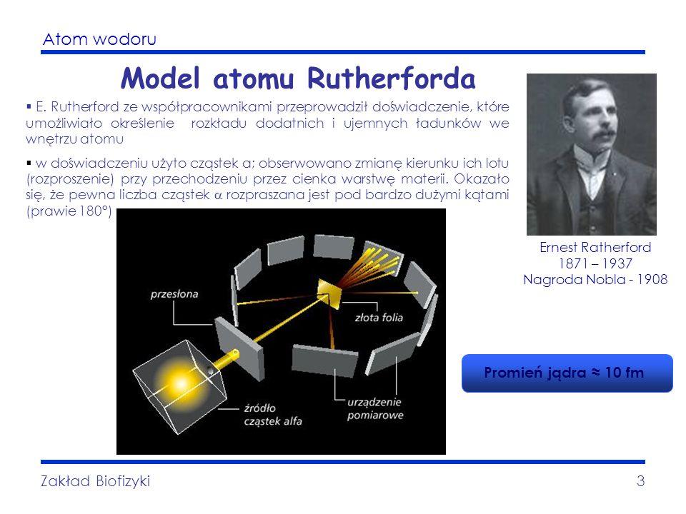 Model atomu Rutherforda