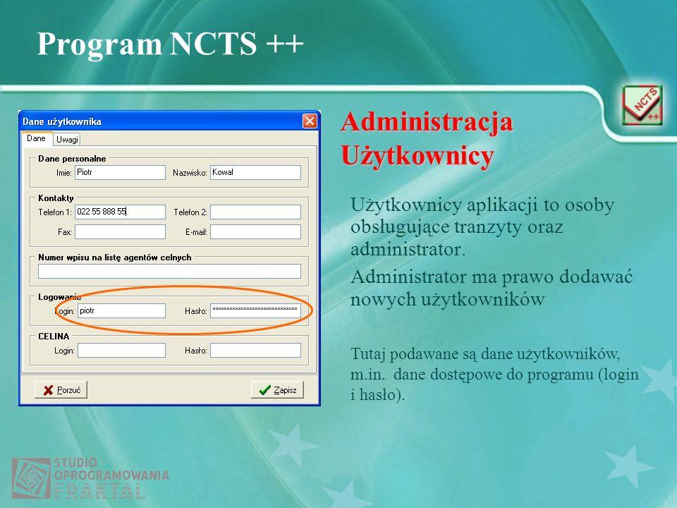 Administracja Użytkownicy