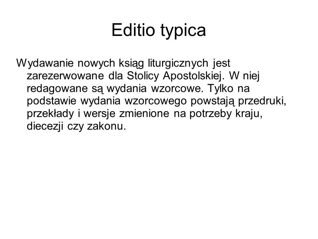 Editio typica