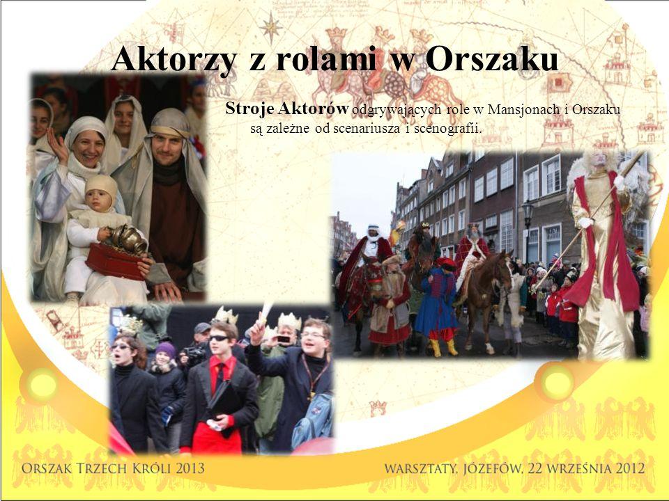 Aktorzy z rolami w Orszaku