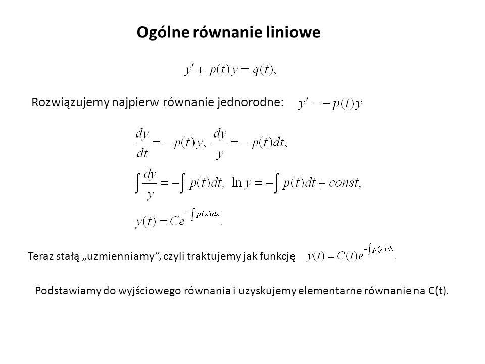 Ogólne równanie liniowe