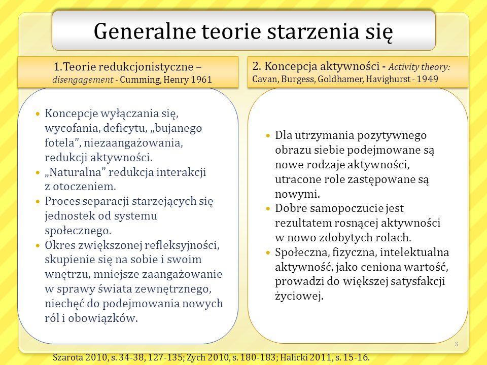 Generalne teorie starzenia się