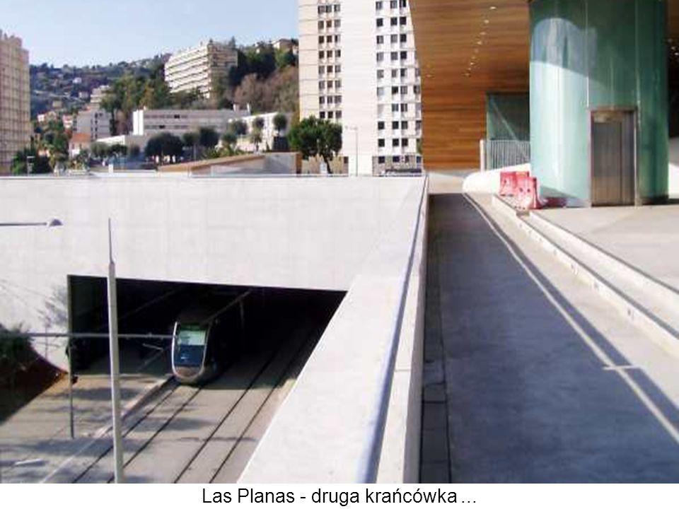 Las Planas - druga krańcówka ...