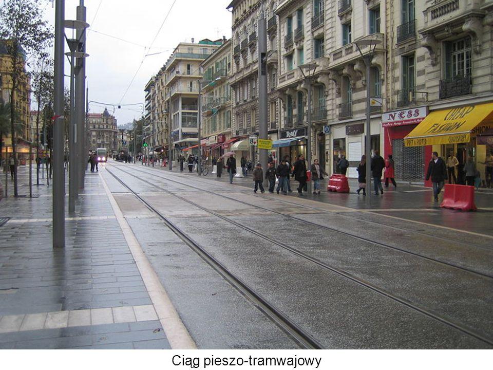 Ciąg pieszo-tramwajowy