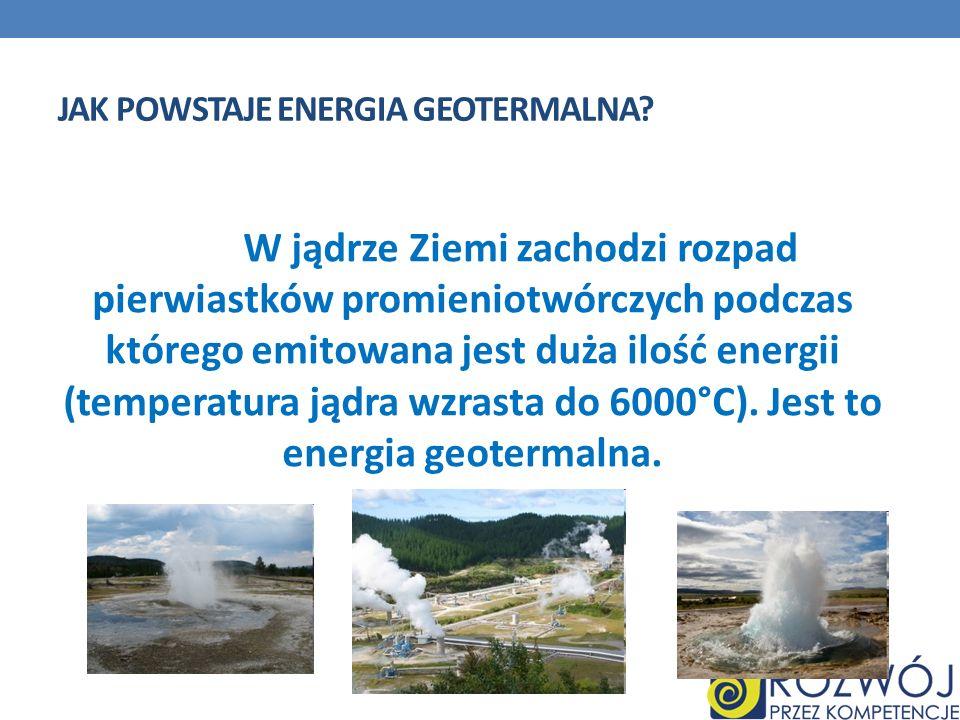 Jak powstaje energia geotermalna