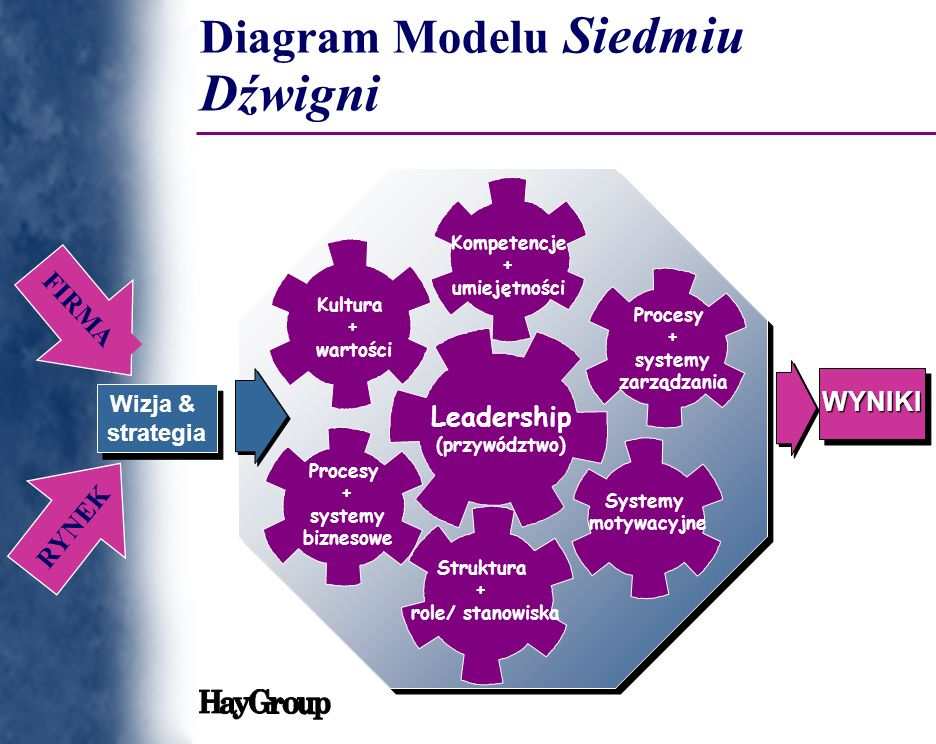 Diagram Modelu Siedmiu Dźwigni