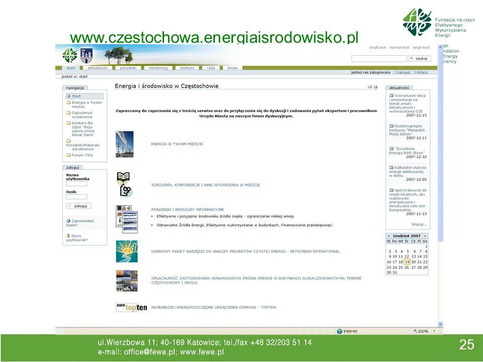 www.czestochowa.energiaisrodowisko.pl 25