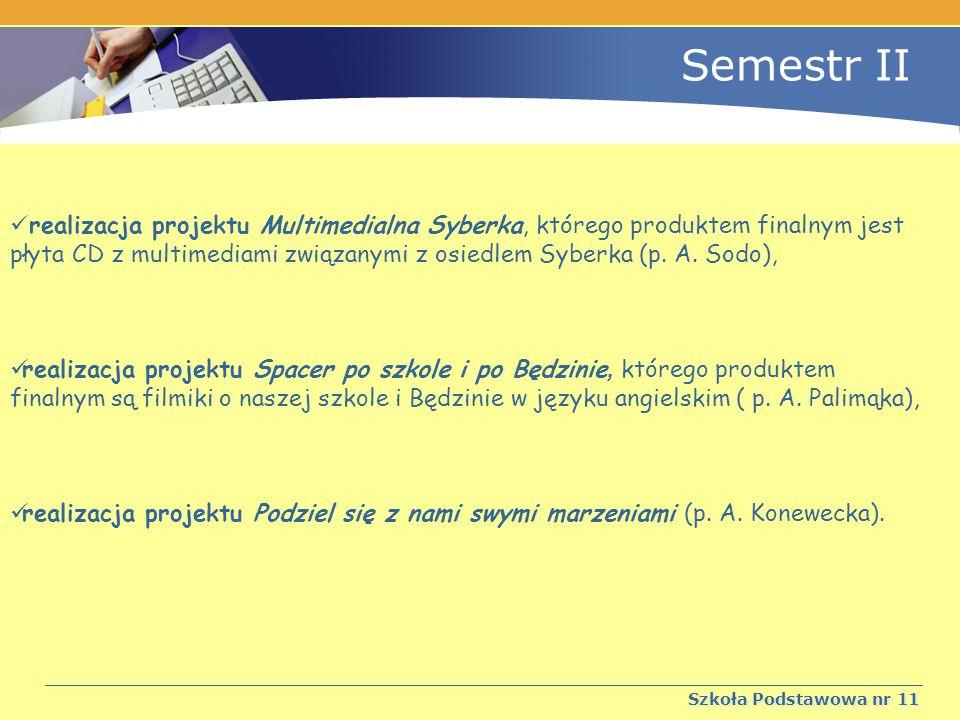 Semestr II